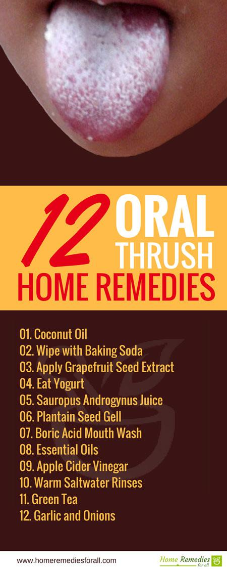 Oral Thrush Natural Treatment