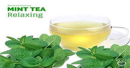 Mint Tea to Prevent Vomiting