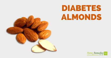 almonds for diabetes