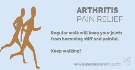 Keep Walking for Arthritis Pain Relief