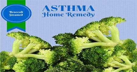Home Remedies for Asthma - Steamed Broccoli