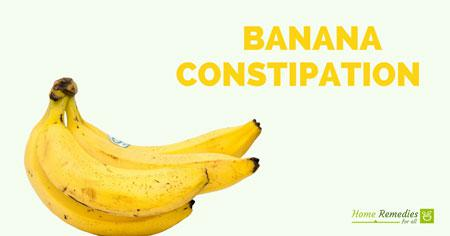 banana for constipation