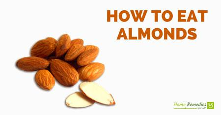 best way to eat almonds