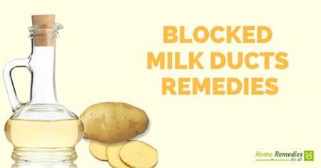 blocked breast ducts preventing