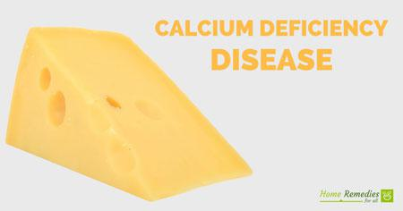 calcium deficiency disease