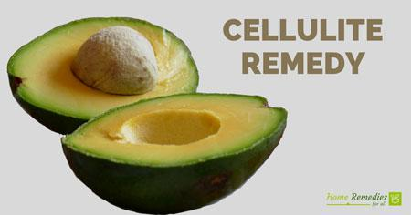 cellulite remedy avocado