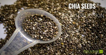chia seeds for skin hair