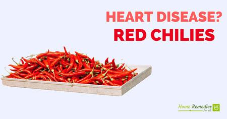 chilies for heart disease