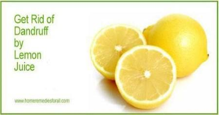 dandruff-home-remedies-lemon