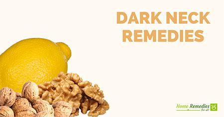 dark neck home remedies