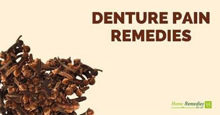 denture pain remedies