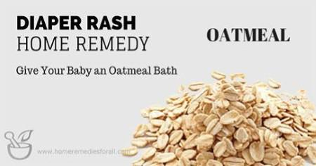 Picture of Home Remedies for Diaper Rash Oatmeal