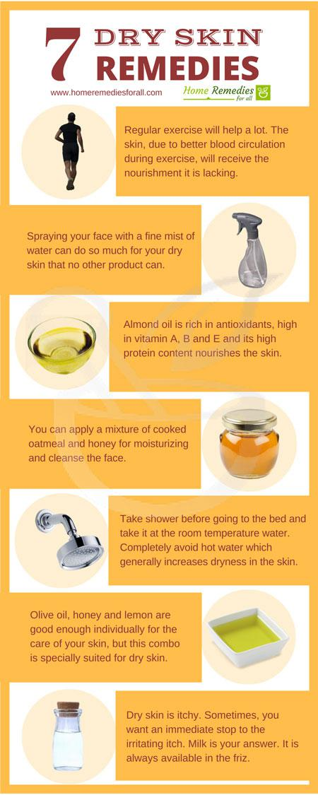 dry skin home remedies