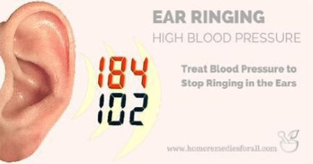 Ear Ringing Due to High Blood Pressure