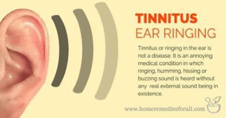 Home Cure For Ear Ringing