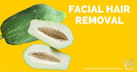 Fucking owsome remedies for removing facial hair