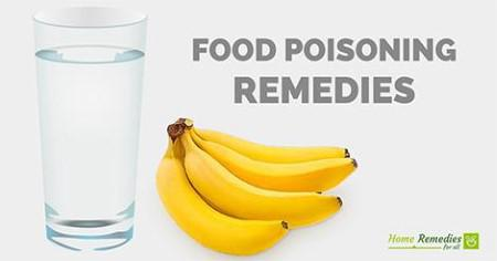 food poisoning remedies