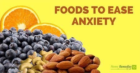 foods to ease anxiety