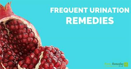 frequent urination remedies