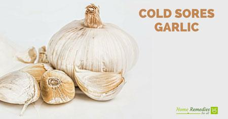 garlic for cold sores