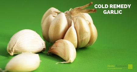 garlic for common cold