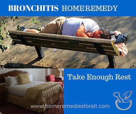 Picture of 5 Ways to Get Rid of Bronchitis Take Rest
