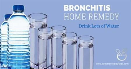 Picture of 5 Ways to Get Rid of Bronchitis Drink Enough Water