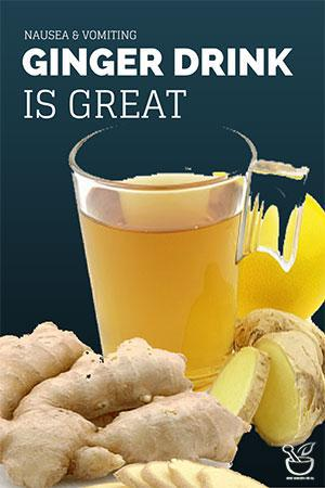 ginger for nausea vomiting