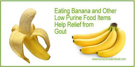 Picture of Home remedies for Gout - Banana
