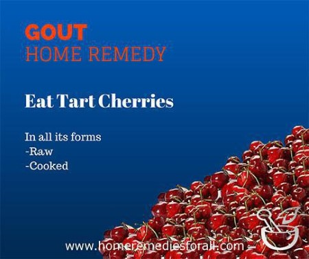 gout-home-remedies-tart-cherries