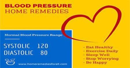 High Blood Pressure Home Remedies - Lifestyle Changes