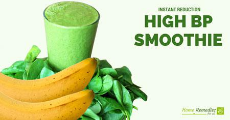 high bp smoothie