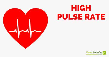 high pulse rate