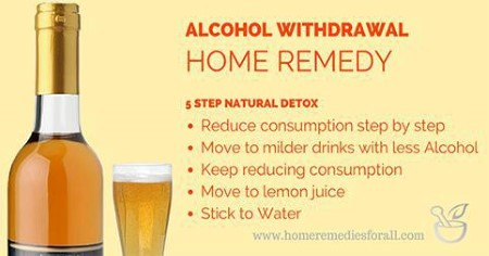 Home Remedies for Alcohol Withdrawal - Natural Detox
