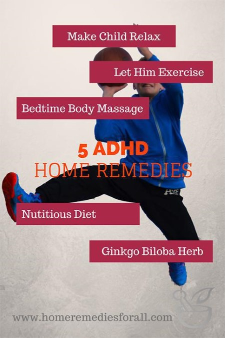 Picture of 5 Home Remedies for ADHD