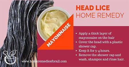 6 home remedies for head lice, Skeleton