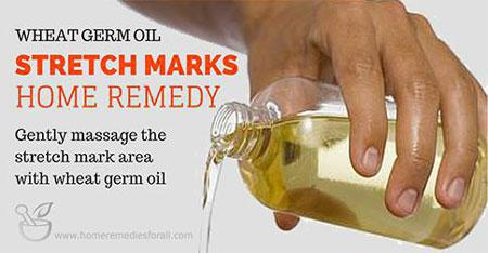 Picture of Home Remedies for Stretc Marks Wheat Germ Oil