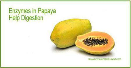 indigestion-home-remedies-papaya