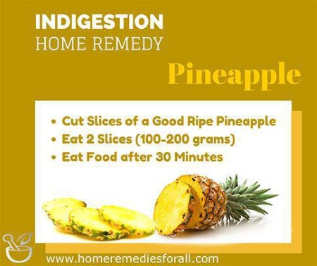 Natural indigestion remedies