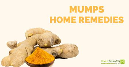 mumps home remedies