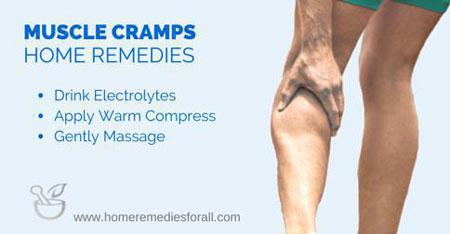muscle cramps remedies
