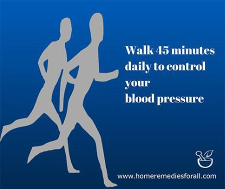 Regular Walk as Home Remedy for High Blood Pressure