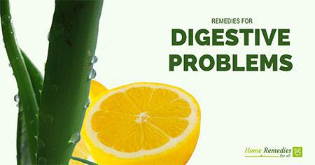 remedies for digestive problems