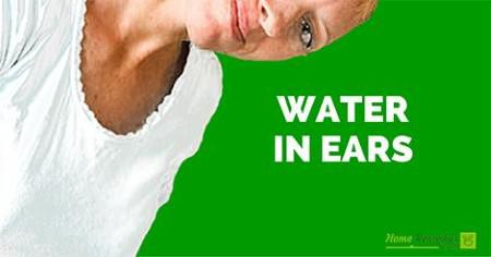 how to clean out your ears with water