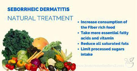 Seborrheic Dermatitis Natural treatment