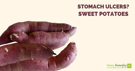 sweet potatoes for stomach ulcers