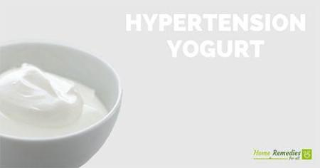 yogurt for hypertension